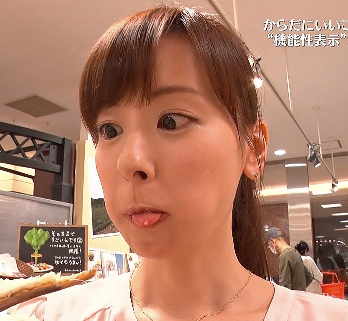 皆藤愛子の食事舌 (2)