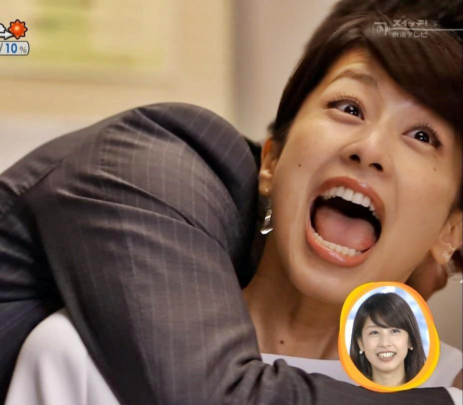 加藤綾子の舌見せ (2)