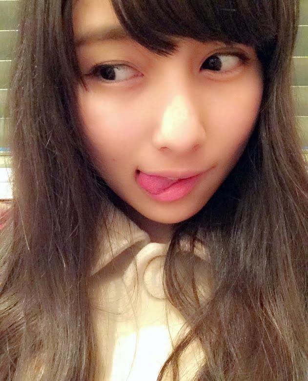 與儀ケイラのてへぺろ舌出し (3)