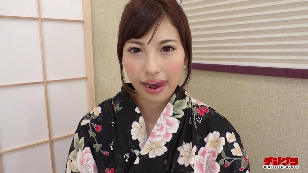 早川瑞希の擬似フェラ (1)