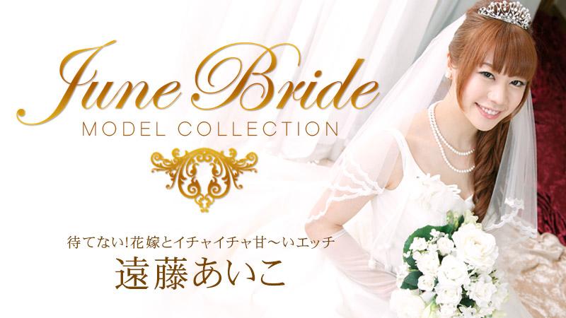 モデルコレクション ジューンブライド 待てない!花嫁とイチャイチャ甘~いエッチ/遠藤あいこ
