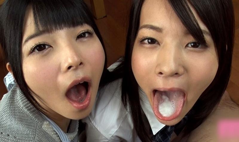 上原亜衣・あべみかこの舌堪能プレイ  (4)