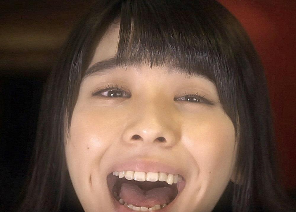 田中美麗の舌見せ (2)
