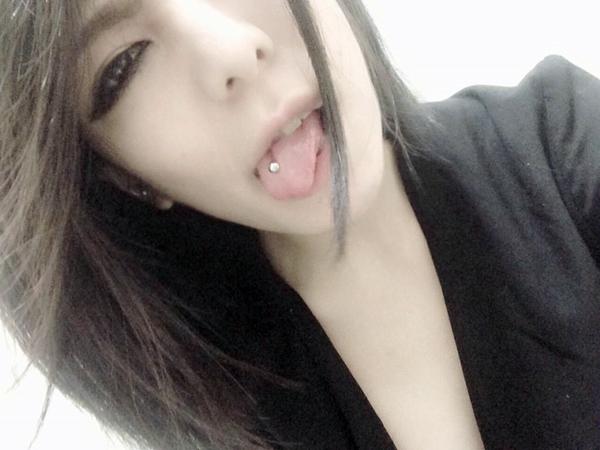 真縞しまりすの舌出し (24)