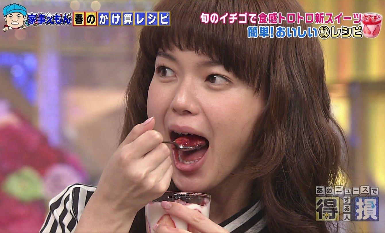 多部未華子の食事舌 (6)