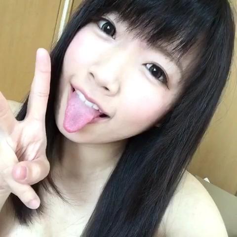 ゆとりのアヘ顔舌出し (3)