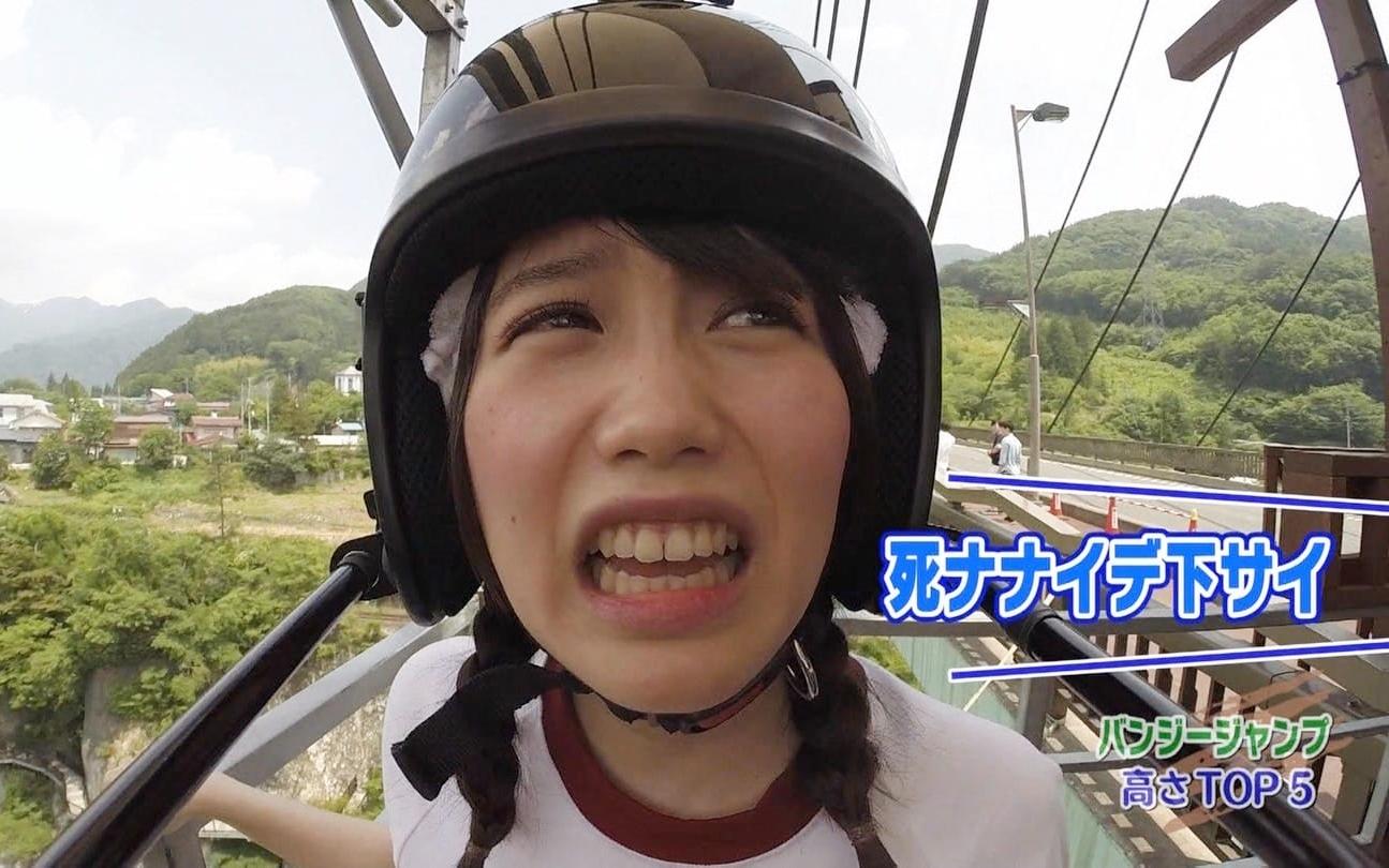 加藤里保菜の舌見せ (1)