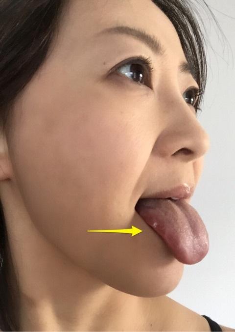 原元美紀の舌出し (2)