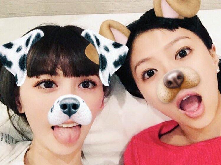 鈴木えみ・榮倉奈々のスナチャ舌 (3)