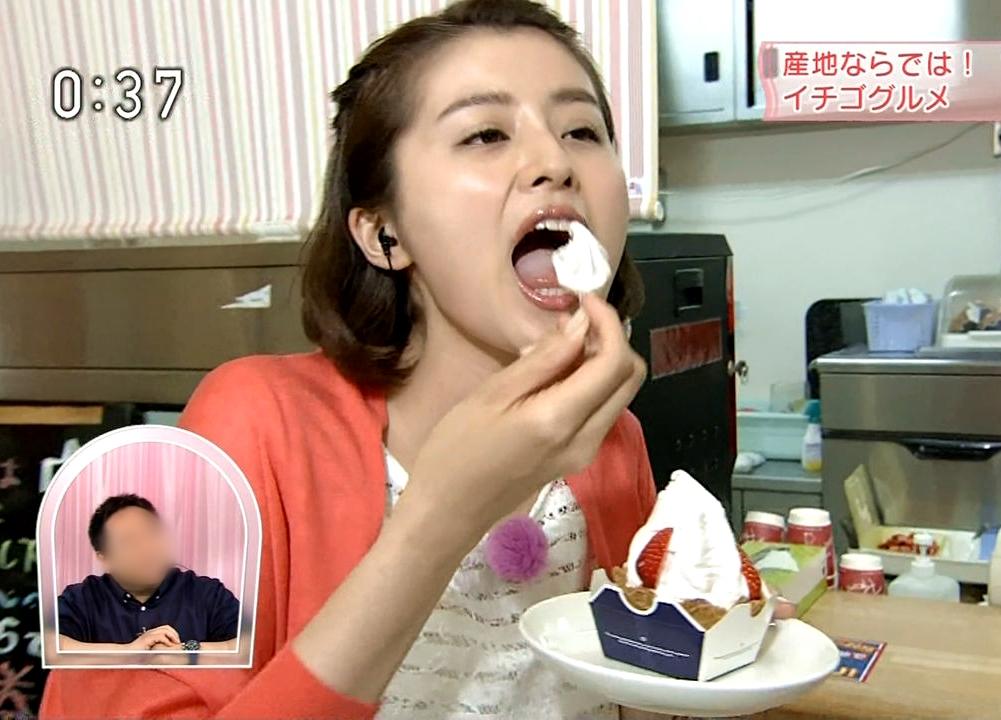 鈴木ちなみの食事舌 (3)