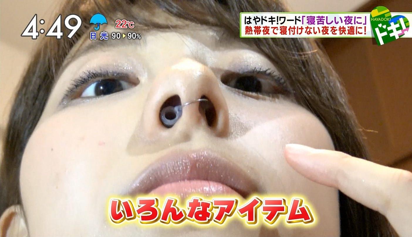 上村彩子の鼻フェチ画像 (8)