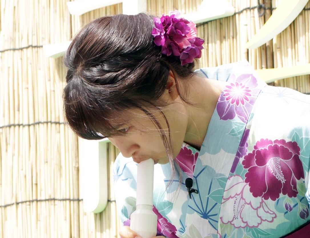 土屋太鳳の擬似フェラ (2)