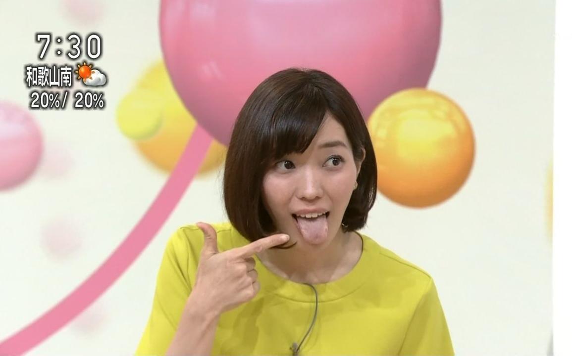 中村慶子の舌出し (5)