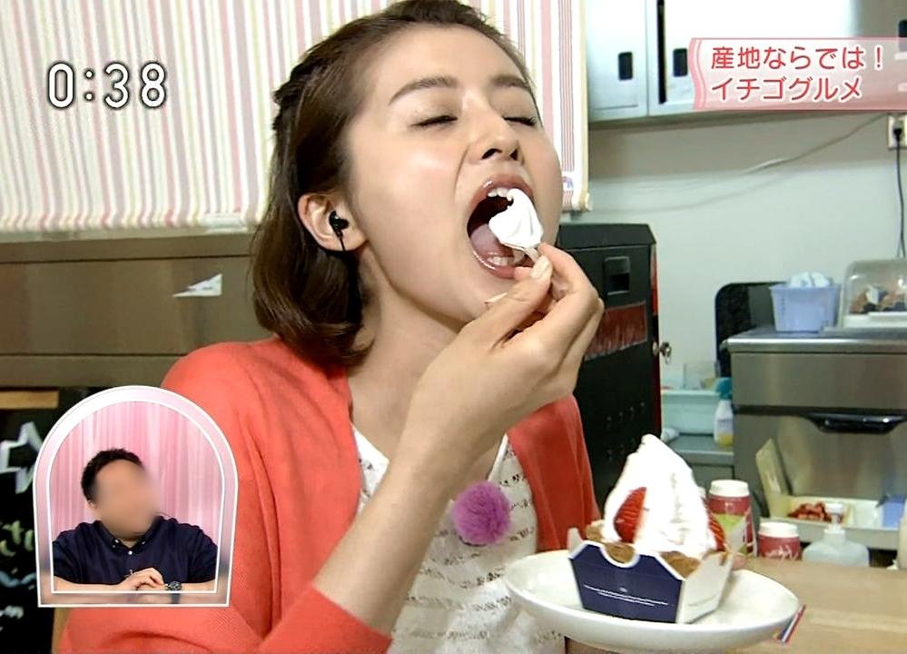 鈴木ちなみの食事舌 (5)