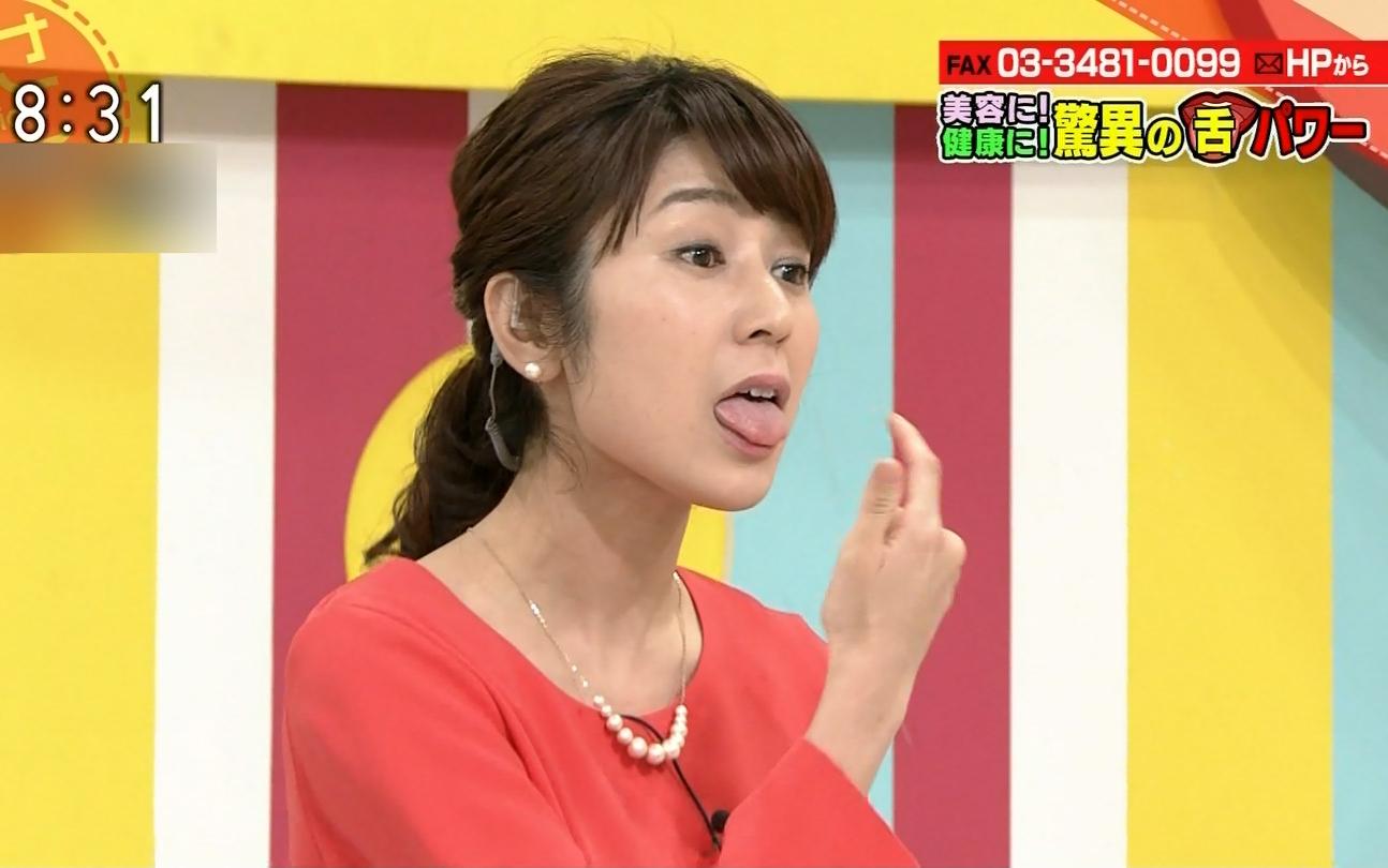 三輪秀香の舌出し2 (3)