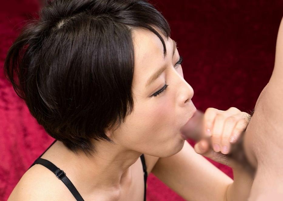 向井藍の舐めフェラ奉仕 (9)