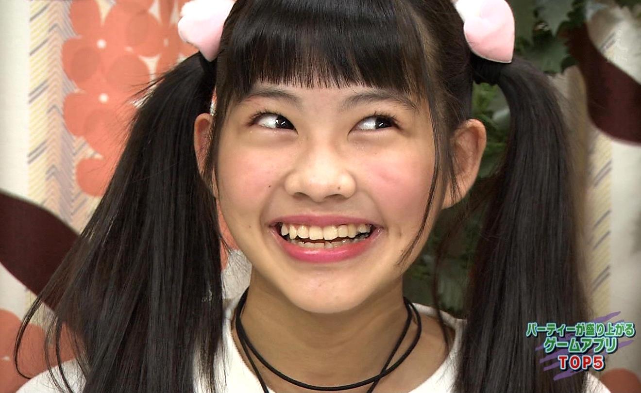 上水口姫香の変顔舌出し (1)