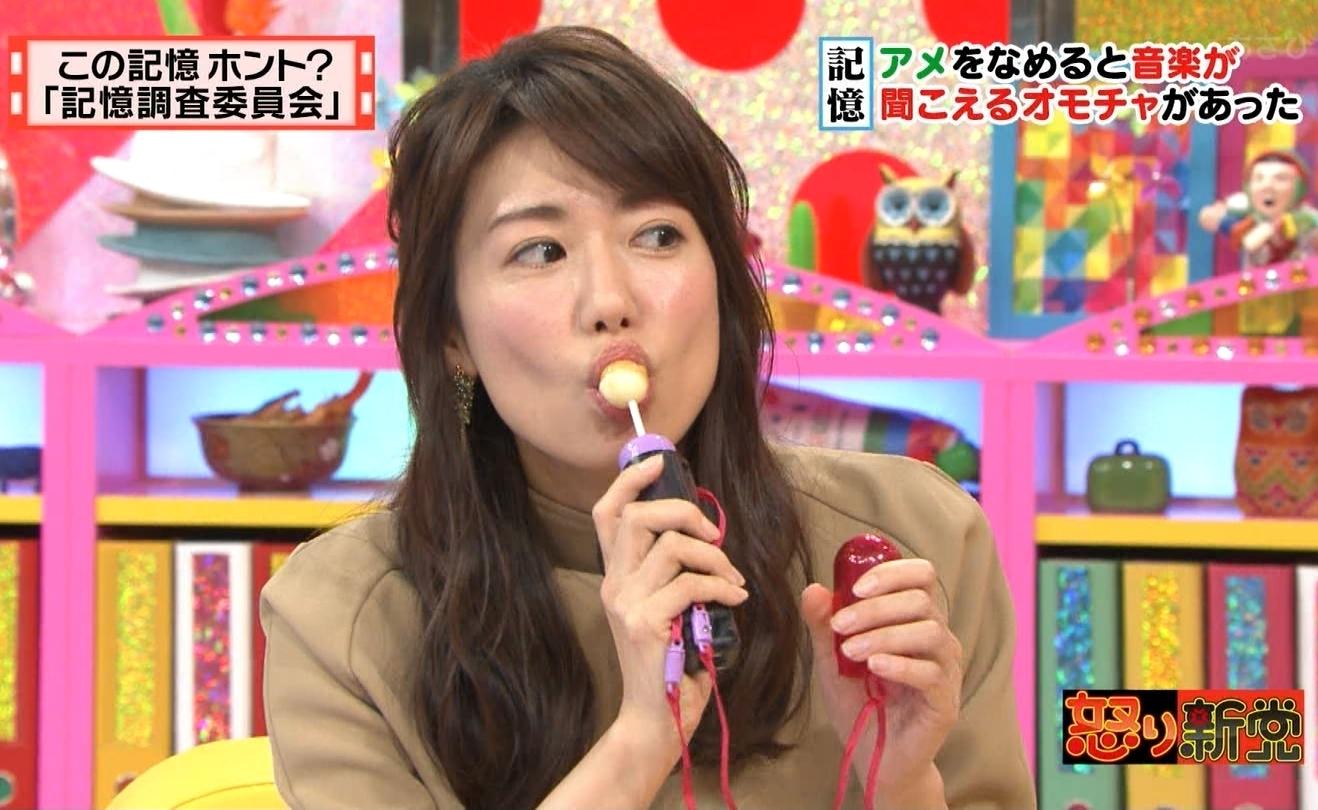 青山愛の疑似フェラ飴舐め (6)