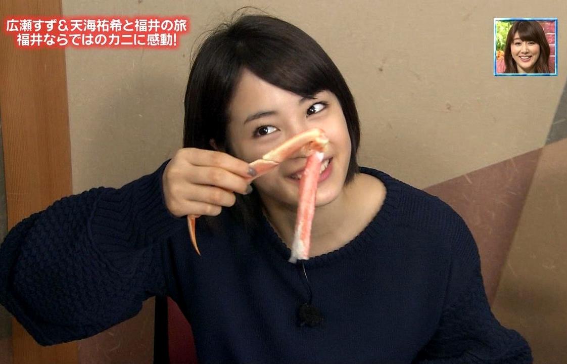 広瀬すずの疑似フェラ (2)