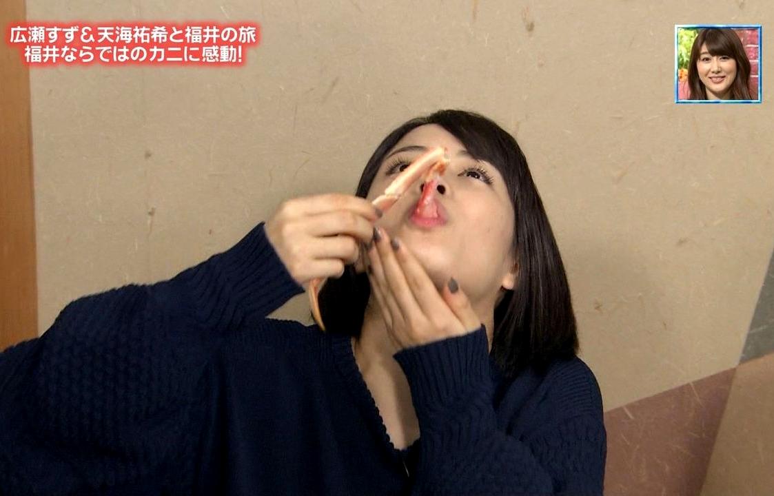 広瀬すずの疑似フェラ (5)