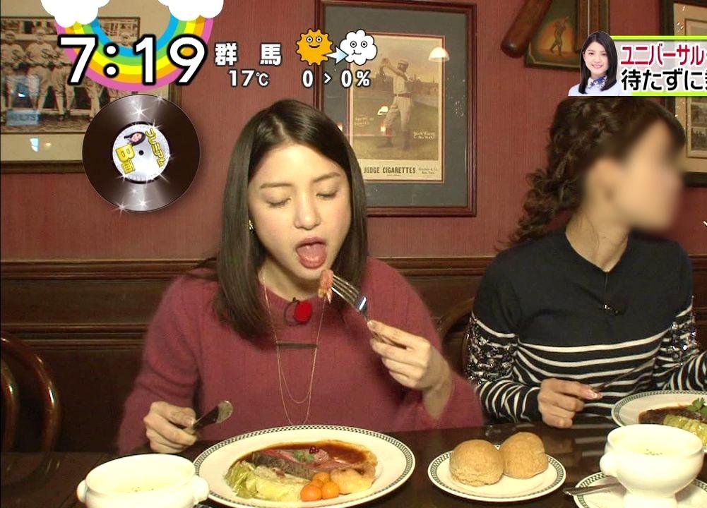 川島海荷の迎え舌 (1)
