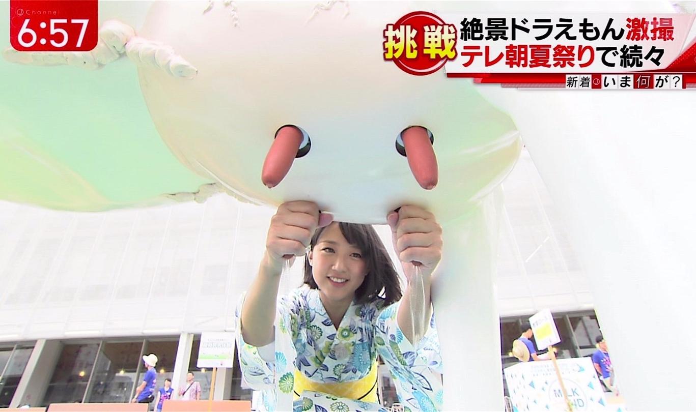 竹内由恵の手コキ2 (1)