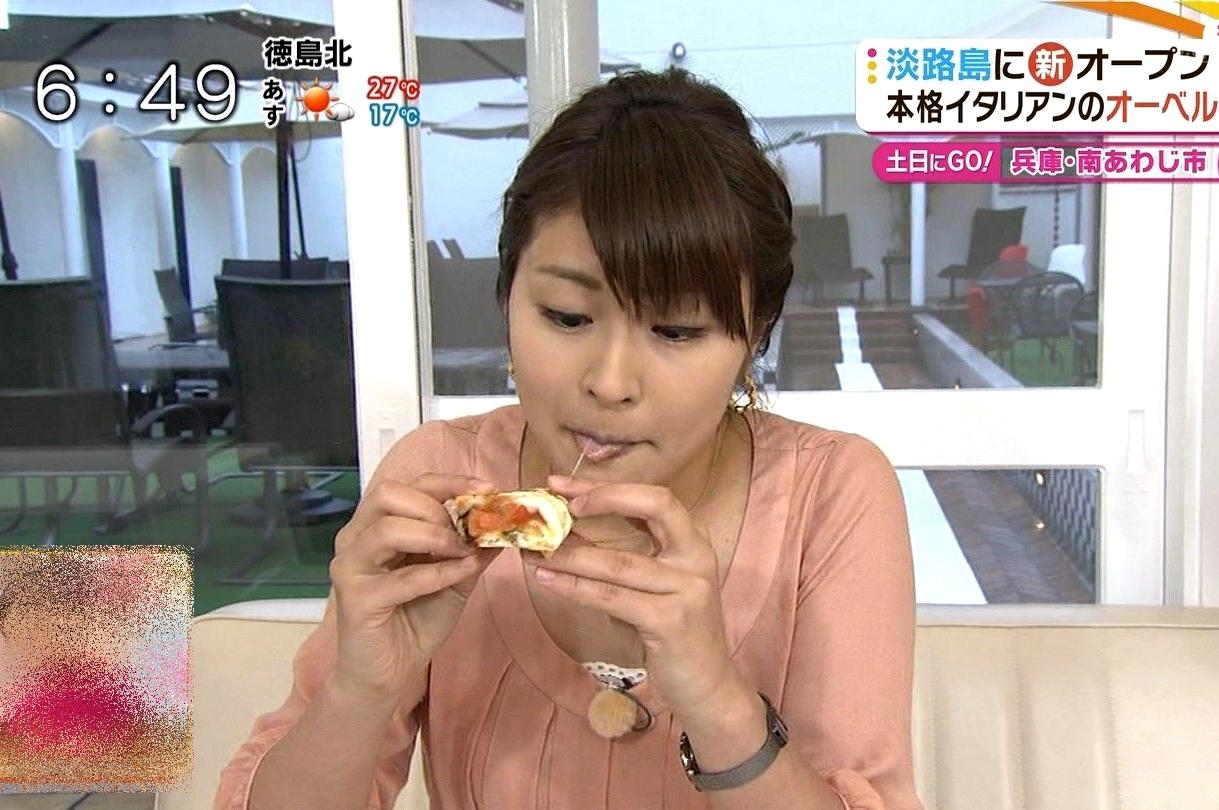 川添佳穂の食事舌 (1)