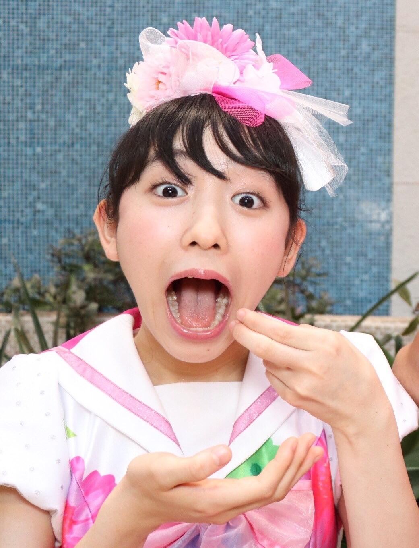小泉遥香の開口舌見せ (3)
