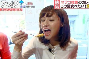 伊東楓の食事舌 (1)