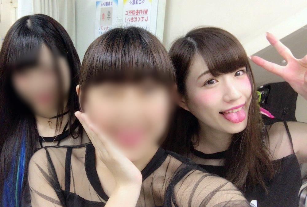 板倉咲奈の舌出し (3)