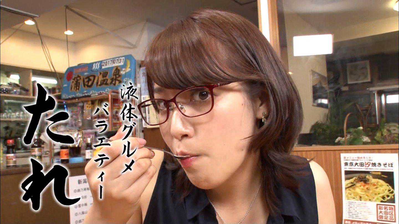 鷲見玲奈の食事顔2 (3)