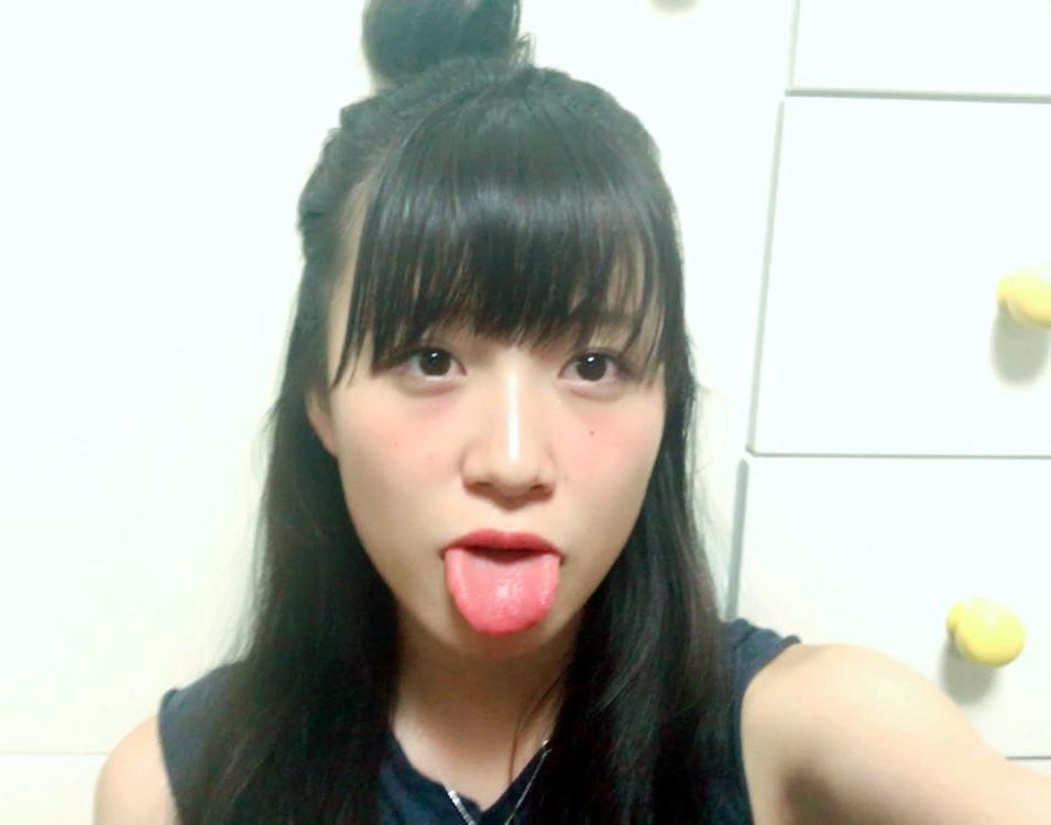 遠藤みゆのぽってり舌 (6)