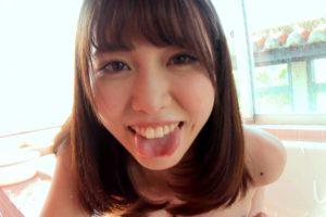 桜井えりなの舌出し (4)
