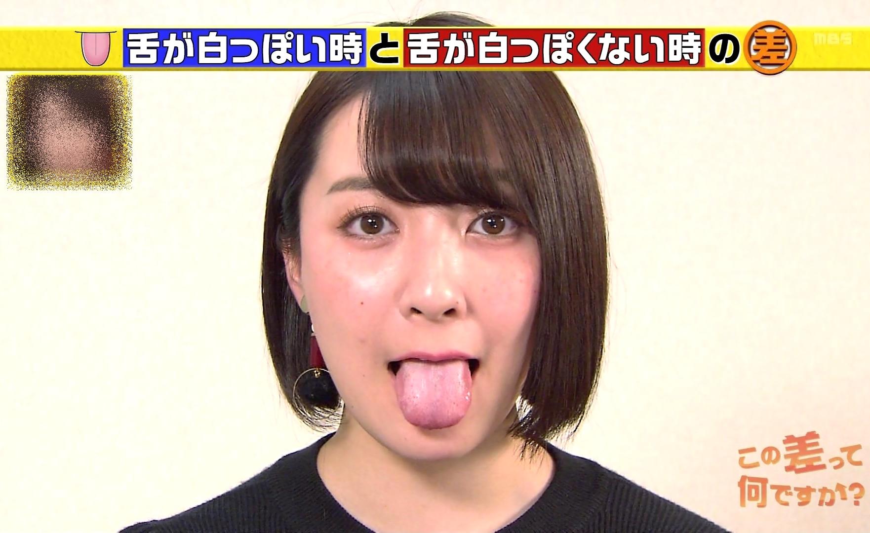 紺野栞の舌出し (3)