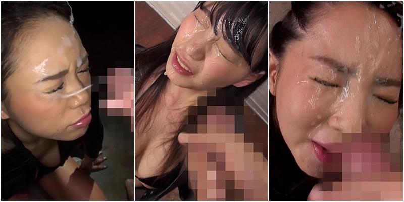 レザー女の超濃厚フェラと大量顔射