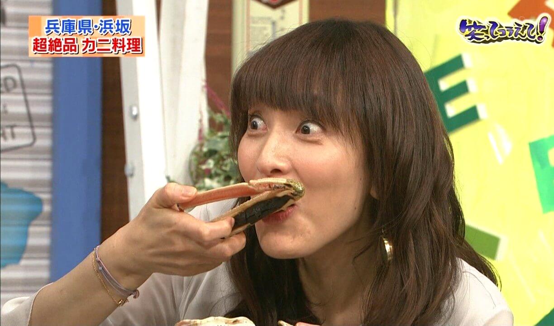 鈴木杏樹のエロ食いキャプ (3)