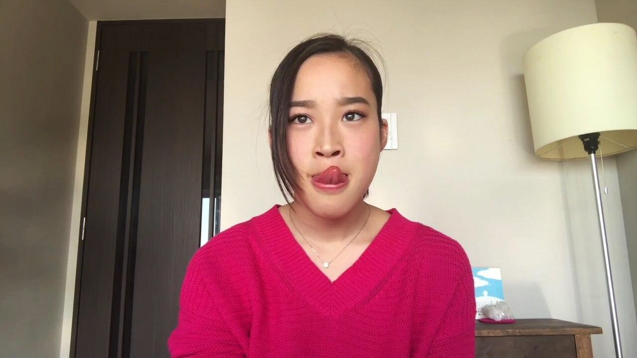 長舌YouTuberの舌遊び2 (2)