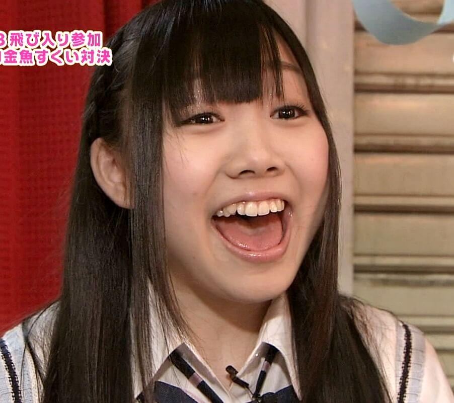 須田亜香里の開口舌見せ (2)