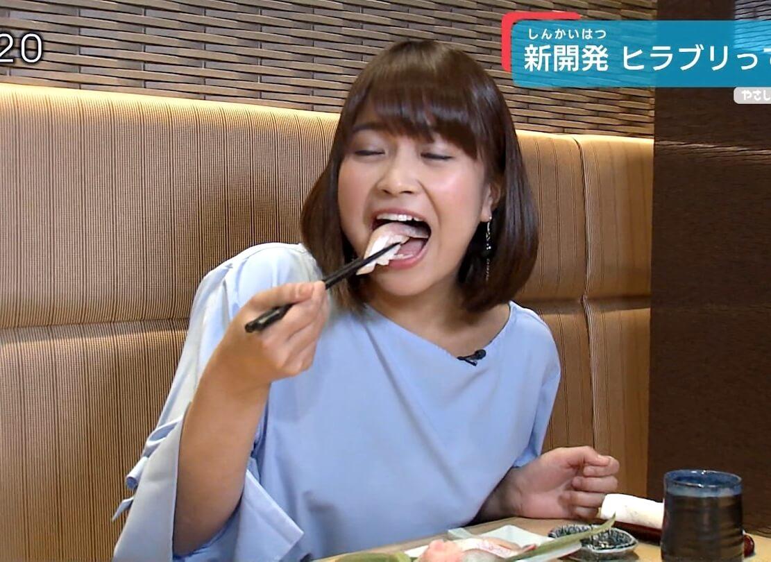 川北円佳の食事舌 (3)