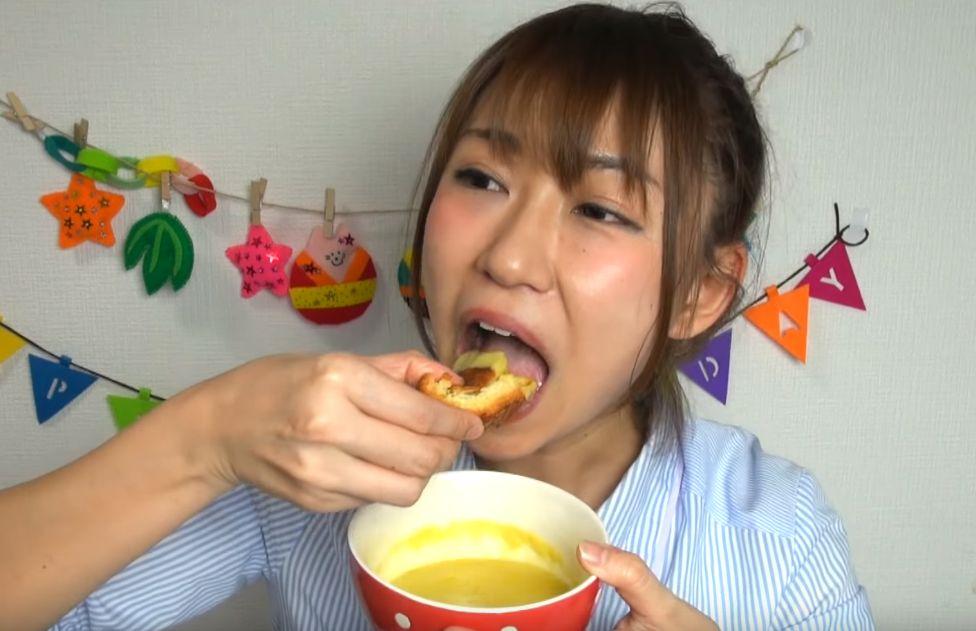 稲垣早希の食事舌まとめ (4)