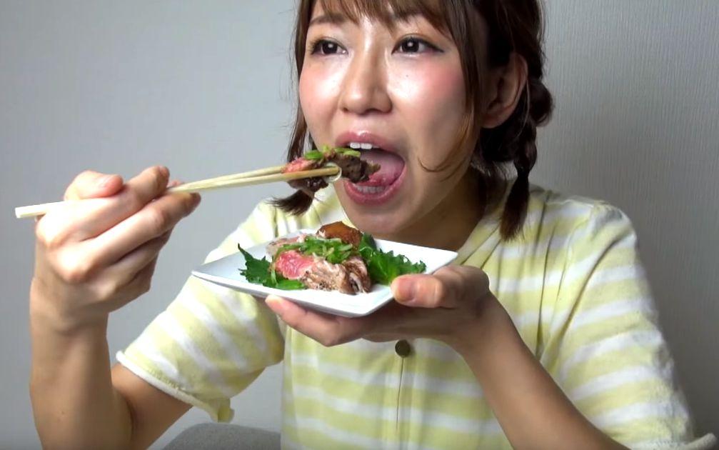 稲垣早希の食事舌まとめ (10)