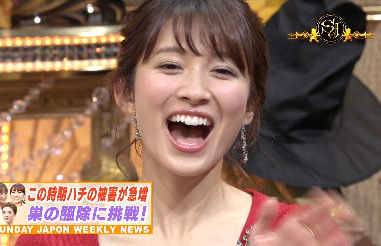 山本里菜の開口舌見せ (1)