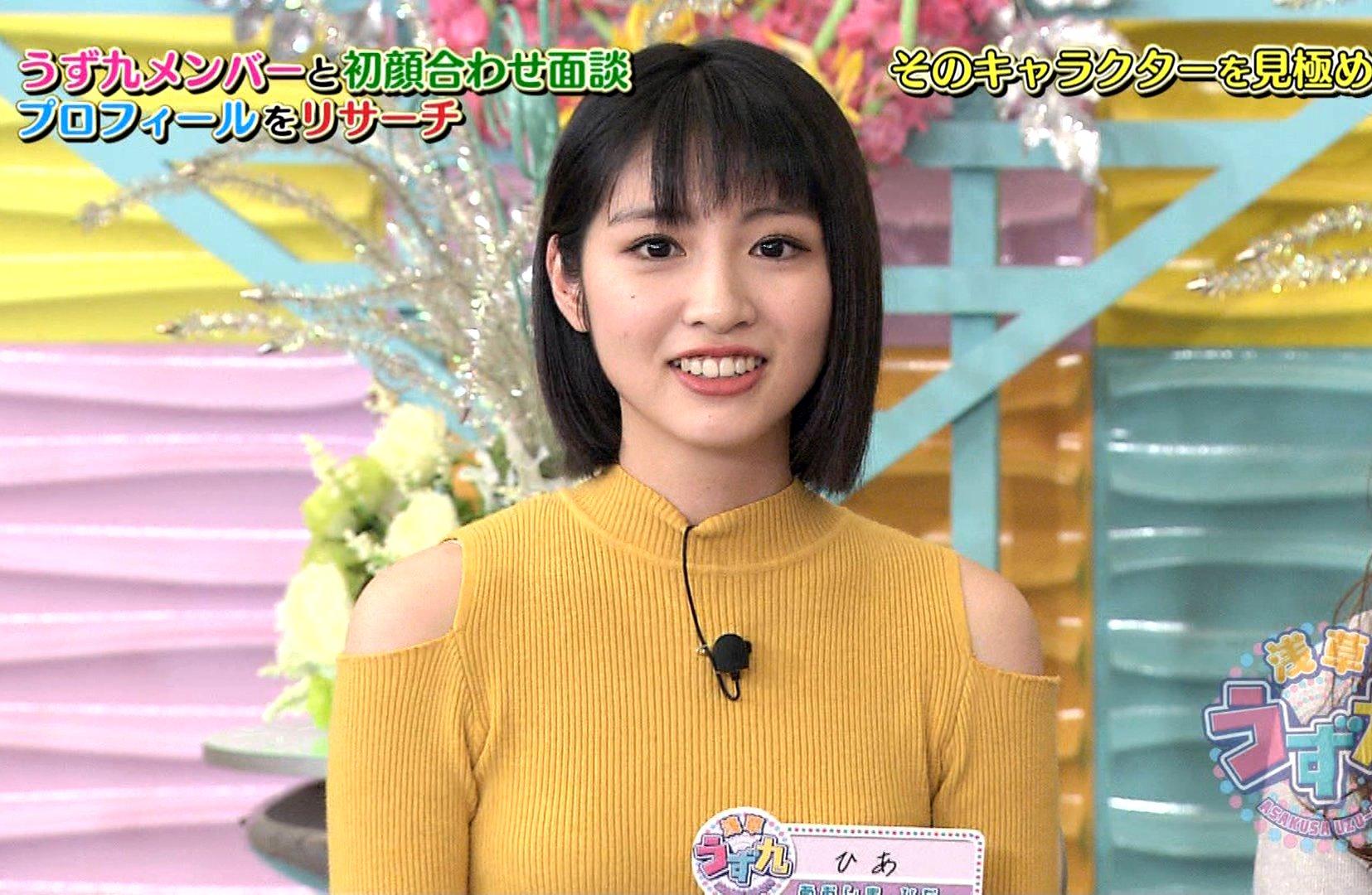 青島妃菜の変顔舌出し (1)
