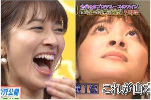 山本里菜の顔面接写