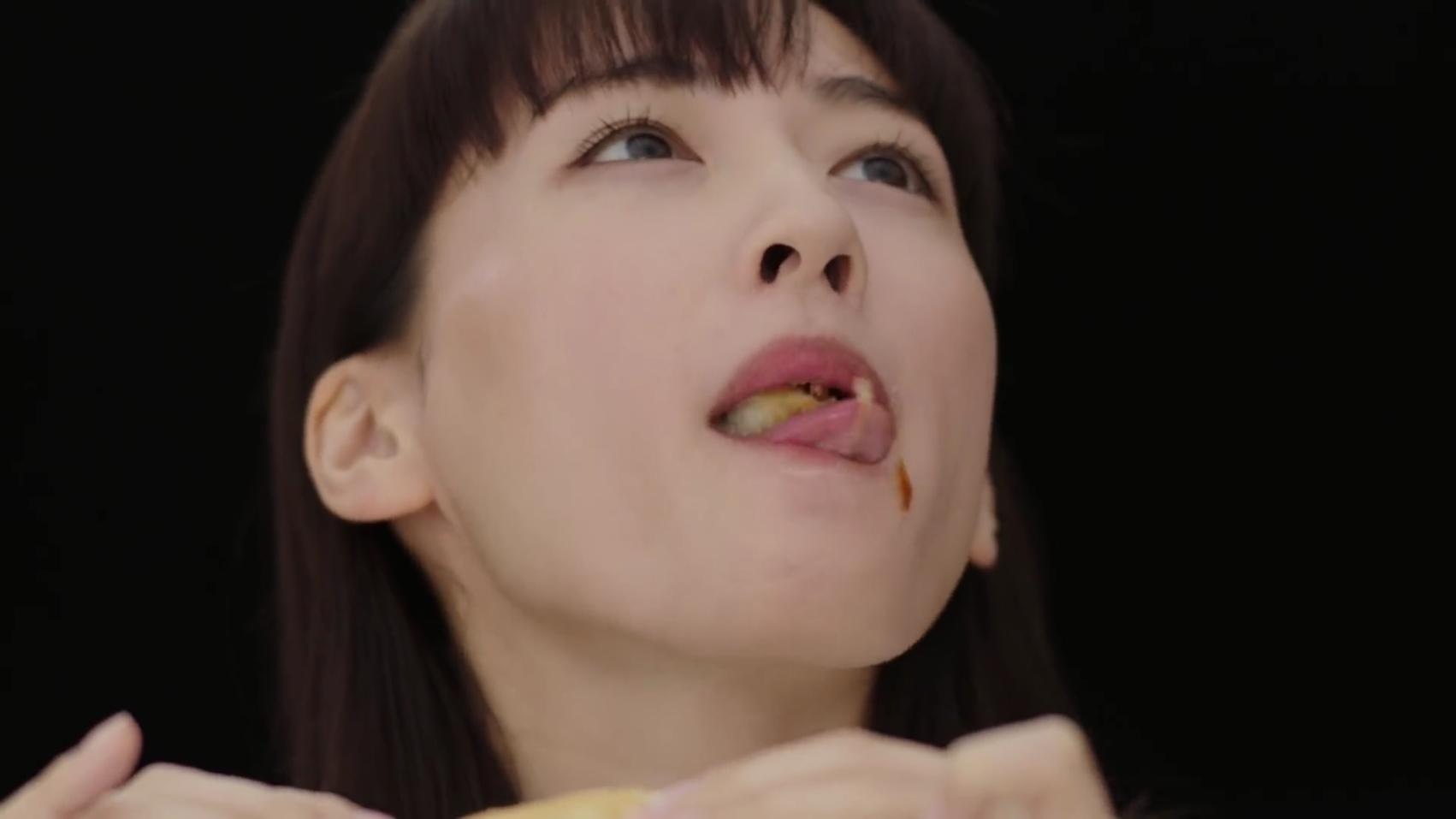 綾瀬はるかの食事舌 (6)