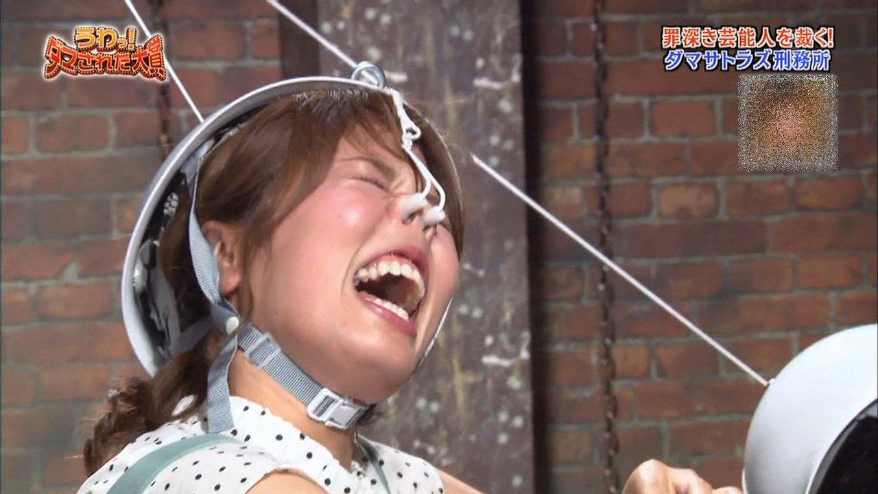 稲村亜美の鼻フック舌見せ (6)