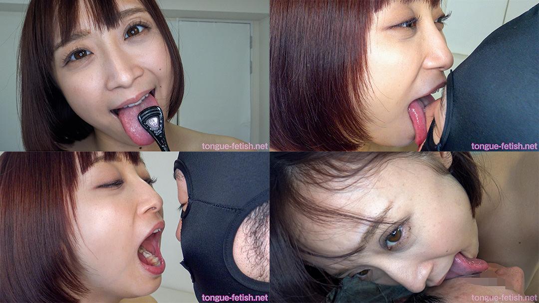 4.きみと歩実のエロ長い舌・唾・口の臭い堪能コース2