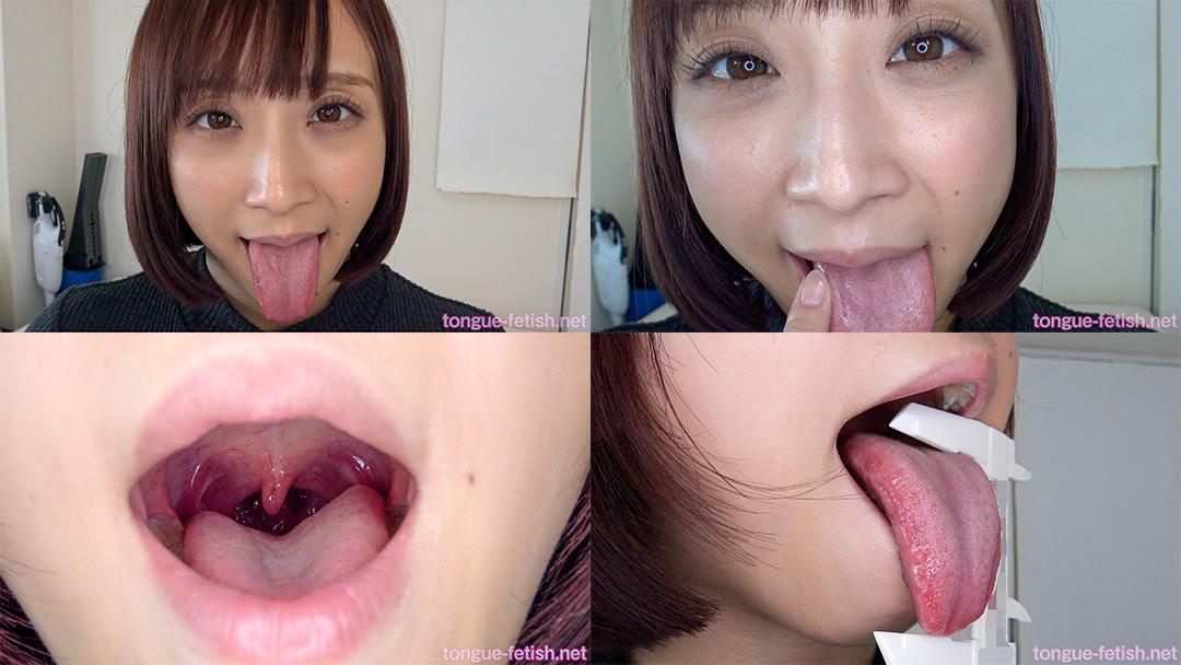 1.きみと歩実のエロ長い舌と口内をじっくり観察