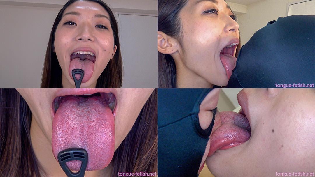 4.香苗レノンのエロ長い舌・唾・口の臭い堪能コース2