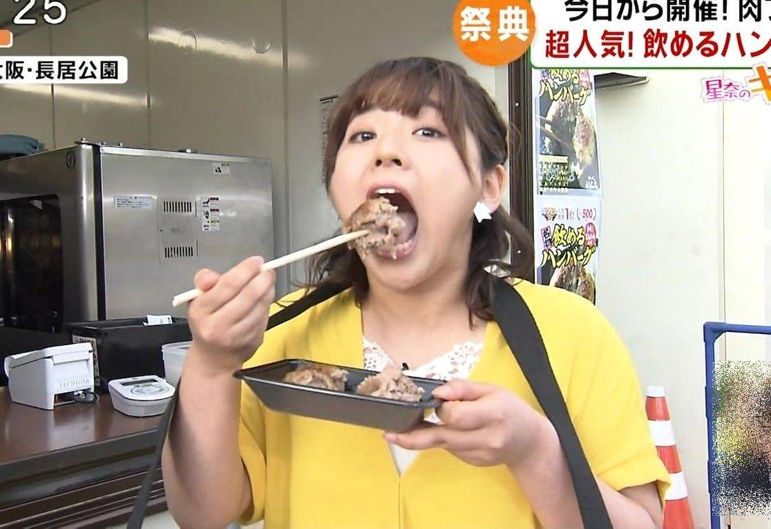 谷元星奈の食事舌 (9)